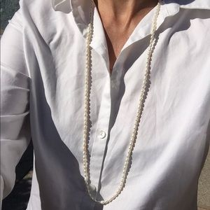 """69f7ce4bd505 Jewelry - Vintage 36"""" freshwater baroque pearl necklace"""